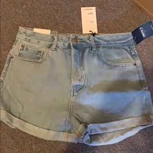 Forever 21 High Rise Denim Shorts